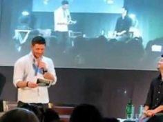 Jensen and Misha - alarm clock and Misha resume interview