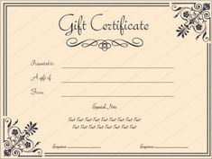 Gift Voucher Templates - Varto intended for Printable Gift Certificates Templates Free - Best Template Design Free Printable Gift Certificates, Christmas Gift Certificate Template, Gift Card Template, Birthday Card Template, Certificate Templates, Voucher, Company Gifts, Spa Gifts, Business Gifts