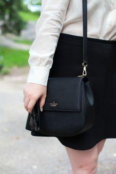 Kate Spade Byrdie Bag in Black