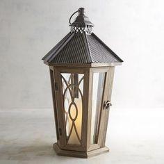 Pier One - Wooden Lantern