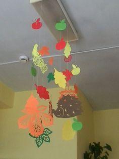 Ceiling Decor, Kindergarten, Door Decorating, Baby, Hipster Stuff, Fall Season, Bricolage, Autumn, Dekoration