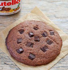 3 Ingredient Single Serving Chewy Nutella Cookie | Kirbie's Cravings | A San Diego food & travel blog
