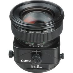 Canon TS-E 45mm f/2.8 Tilt-Shift UPC: 082966 212741 Normal lens featuring tilt and shift movements. The floating system and rear focusing give sharp and stable delineation from 1.3ft. to infinity. The