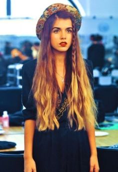 90's hair, I need this length!