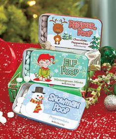 Set of 3 Novelty Mint Tins-With the humorous saying on each lid, these are mints you'll enjoy sharing! #LakesideCollection