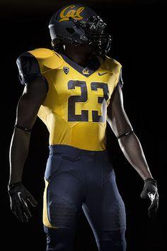 Cal Football Uniform 2013