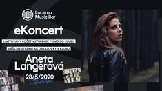 Aneta Langerová - eKoncert Lucerna Music Bar Bar, Youtube, Music, Youtube Movies