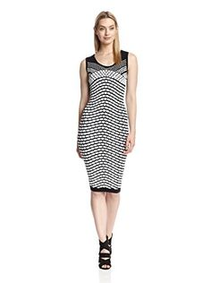 5f33d9fa9280 Nicole Miller Womens Pixel Jacquard Tank Dress BlackWhite PT US 02     Find  out more about the great product at the image link. (Note Amazon affiliate  link)