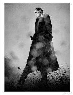"""Par-delà Les Nuages"" : Malgosia Bela : Vogue Paris October 2011 : David Sims"