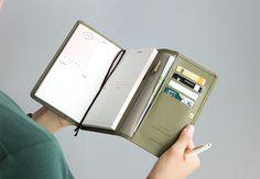 Pochette Leather Diary Wallet v3
