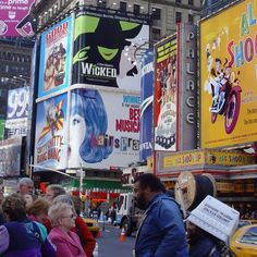 see a broadway show in nyc-check off the list, Wicked!