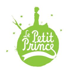 T-shirt woman white The Little Prince green icon