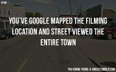 """You know you're a oncer when you've google mapped the filming location and street viewed the entire town.""        ~a-piece-of-m3   (3480 Moncton Street, Richmond, Canada puts you right in front of Gold's shop.)"