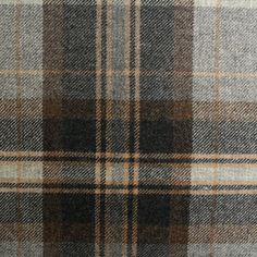 100-Traditional-Scotish-Upholstery-Wool-Woven-Tartan-Check-Curtain-Tweed-Fabric