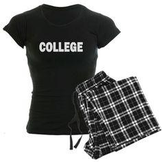 College pj's