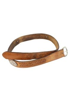 1970's Mens Accessories - Leather Western Belt