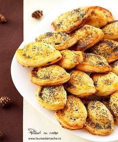 Delicious homemade meat pies with poppy seeds - hmm, could try with Jamaican beef instead for yummy ny style beef patties Romania Food, Beef Recipes, Cooking Recipes, Cooking Ideas, Food Ideas, Great Recipes, Favorite Recipes, Beef Patty, Pastry And Bakery
