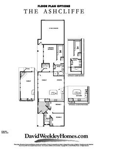 1000 images about david weekley homes ashcliff on for David homes floor plans