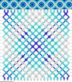 Muster # 38013, Streicher: 20 Zeilen: 20 Farben: 5