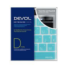 DEVOL KEYBOARD SKIN for MacBook Pro Touch Bar and Touch ID (late 2016) Keyboard skin + Touch Bar and Touch ID Protection Film www.devol.co.kr