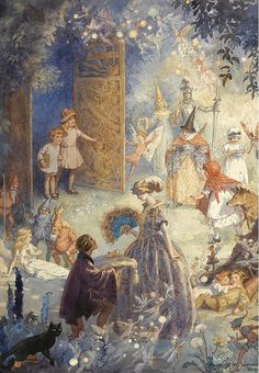 "Margaret W. Tarrant,  ""Gates of Fairyland"" by sofi01, via Flickr"