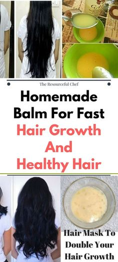 DIY Homemade Balm For Fast Hair Growth And Healthy Hair !!!
