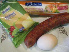 Slané jednohubky (fotorecept) - obrázok 1 Sausage, Food, Basket, Sausages, Essen, Meals, Yemek, Eten, Chinese Sausage