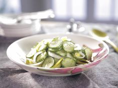 Cold Cucumber Salad : Trisha Yearwood : Food Network