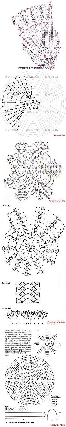 Mejores 1783 imágenes de Boinas y gorros caídos a Crochet para Damas ...