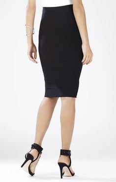 BCBG: Black Pencil Skirt