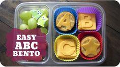EASY ABC BENTO  | Subscribe: http://youtube.com/PepperScraps