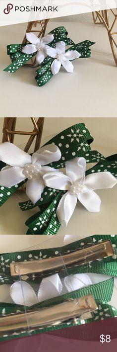🎉HP🎉•Cute Handmade Flower Bows• New! Handmade in San Diego California Accessories
