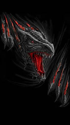 Gothic Dragon Wallpaper | WALLPAPERS - Gothic, skulls, death, fantasy, erotic and animals
