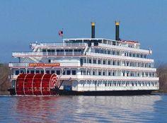 Mississippi River Boat - Nova Orleans destino certo para quem procura diversão a qualquer hora