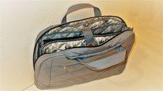 Сумка-органайзер для ноутбука своими руками. DIY Laptop organizer bag wi...
