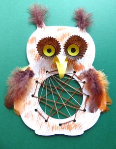 Autumn creative competition with Think Creative - tested on children - Cool Crafts Animal Crafts For Kids, Toddler Crafts, Diy For Kids, Animals For Kids, Halloween Witch Decorations, Halloween Crafts, Owl Crafts, Autumn Crafts, Projects For Kids