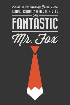 "Minimal Movie Poster for ""Fantastic Mr Fox"" animated film Minimal Movie Posters, Film Posters, Stop Motion, Eiko Ojala, Fox Movies, Fantastic Mr Fox, Alternative Movie Posters, Film Serie, Minimalist Poster"