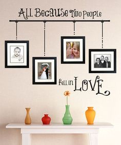 Decorating with Frames | Empty frames, Custom framing and Frame ...