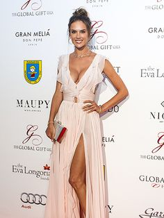 Star Tracks: Tuesday, July 19, 2016 | RED CARPET RADIANCE | Alessandra Ambrosio stuns at Sunday's Global Gift Gala in Marbella, Spain. Beautiful Dresses, Nice Dresses, Marbella Spain, Fashion Models, Fashion Outfits, Red Carpet Gowns, Brooke Shields, Alessandra Ambrosio, Classy And Fabulous