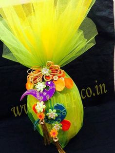 Indian Wedding Favors, Indian Wedding Decorations, Wedding Gift Wrapping, Wedding Gifts, Coconut Decoration, Trousseau Packing, Marriage Decoration, Wedding Plates, Engagement Decorations