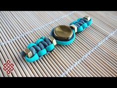 Paracord Hand Spinner (Tri-Spinner) Fidget Toy Tutorial - YouTube