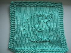 Ravelry: Hedgehog Washcloth #3 pattern by Ber Alcock-Earley