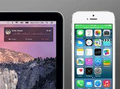 MacBook usado como extensão viva-voz do iPhone
