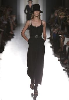 Victoria Beckham | Dresses | #243 Black Matt Cami Dress
