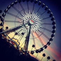 2012 #Coachella #Sunset