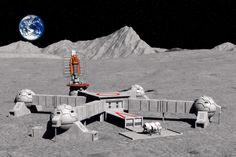 future moon colonies 2100 civilian settlement space travel technology 22nd century