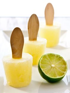 Margarita Popsicles! Yeah, I know, they aren't a drink, but still...