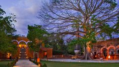 Hacienda en Campeche, Mexico.
