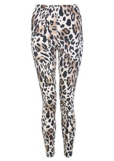 Classic Beige Animal Print Legging - Womens Clothing Sale, Womens Fashion, Cheap Clothes Online   Miss Rebel