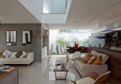 Wohnzimmer Deko Wasser And Design Aquarium Offener